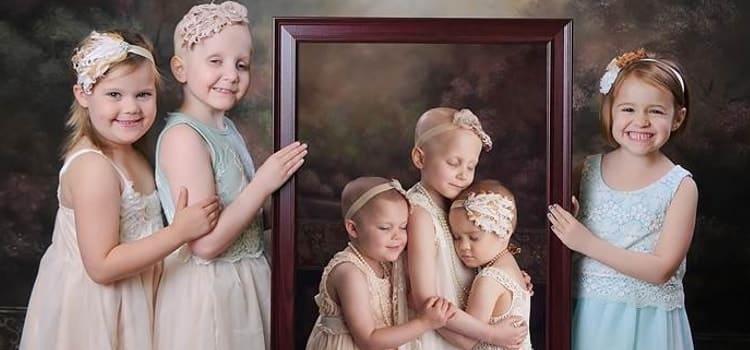 Batalha de criança com câncer