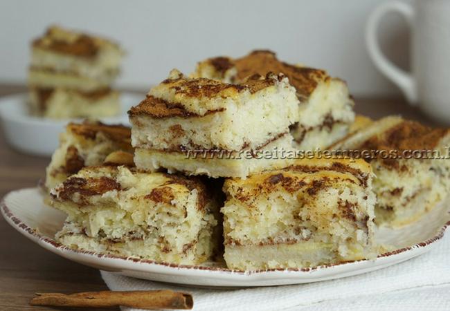 bolo para festa junina sabor banana