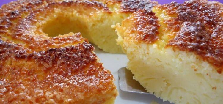 bolo queijadinha tradicional
