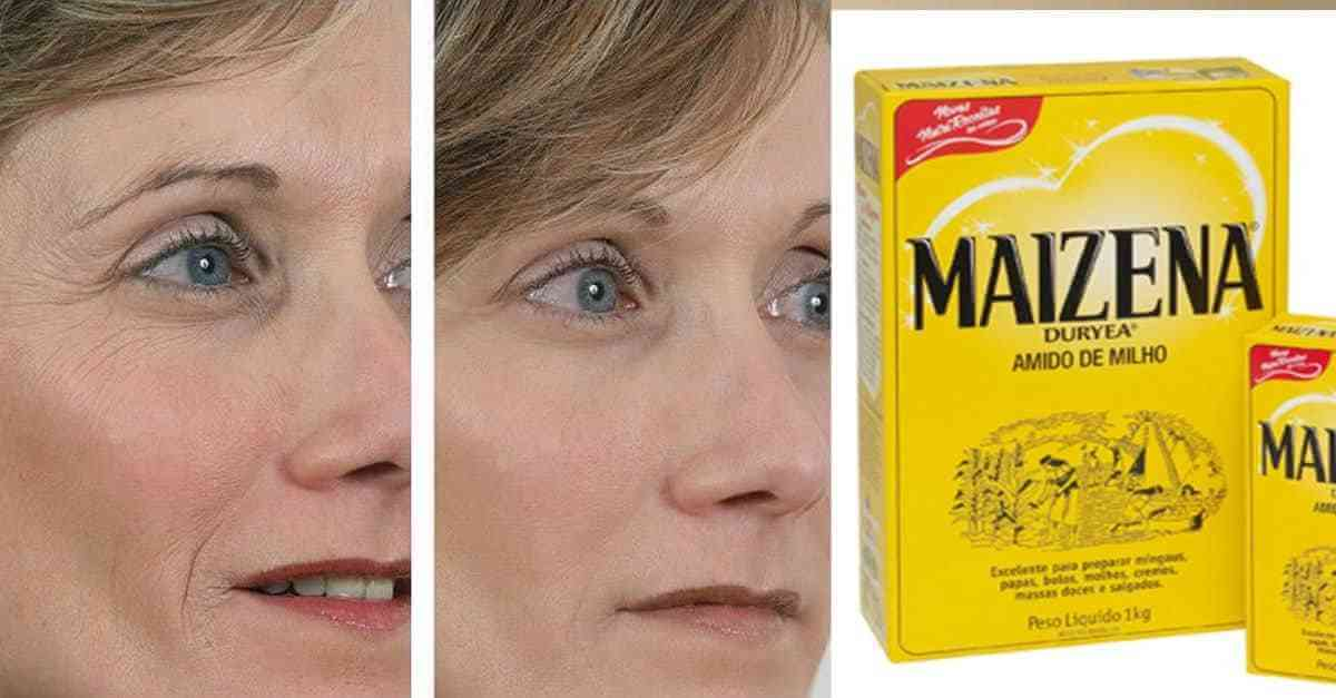 Tratamento Milagroso Receita Caseira Com Maisena Com Efeito Botox