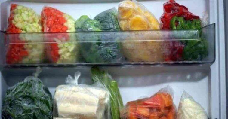 Resultado de imagem para Aprenda a congelar os vegetais e economize dinheiro e tempo