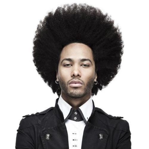corte masculino black power