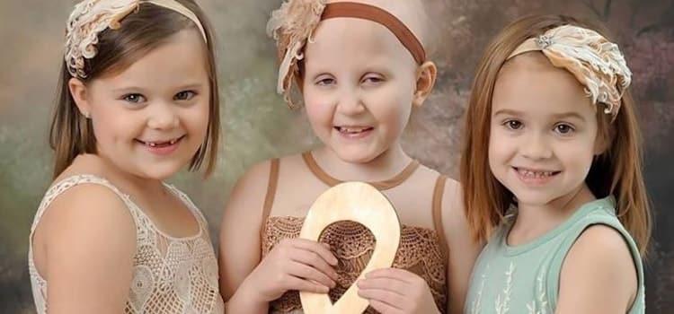 A vitória de 3 crianças com câncer