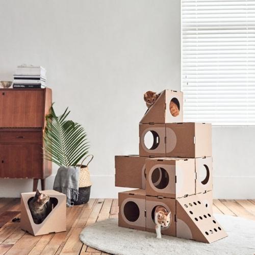 Decoracao Para Quem Tem Gatos Escultura
