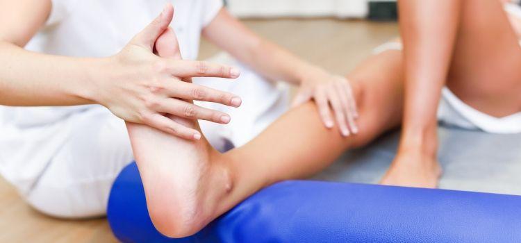 Como manter o pé inchado após a cirurgia
