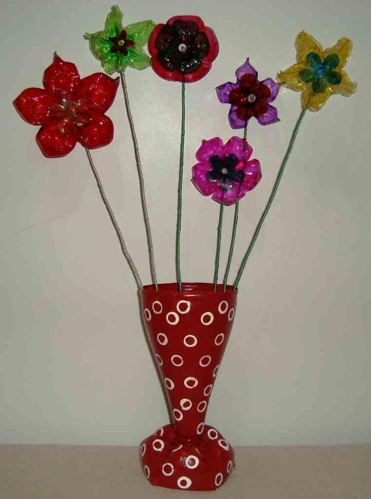 flor-garrafa-pet-vaso