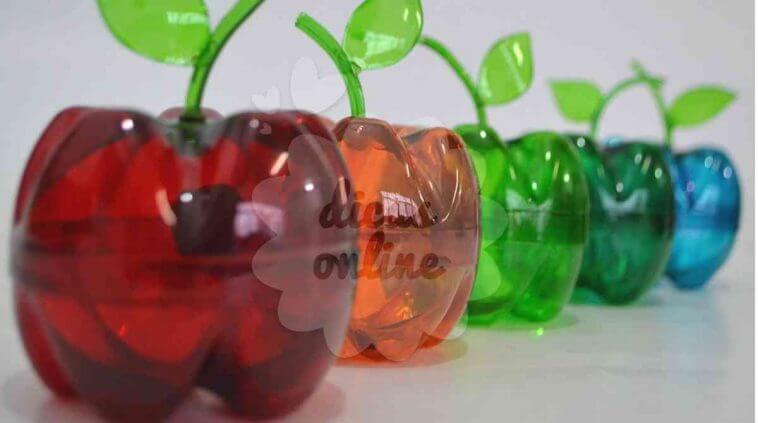 Super Ideias incríveis de artesanato com garrafas PET KV13