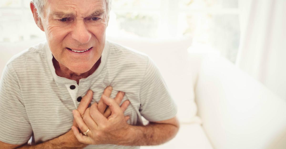 sintomas de un infarto cardiaco fulminante