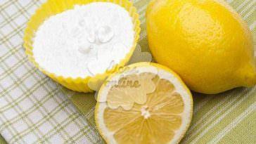 Bicarbonato com suco de limão